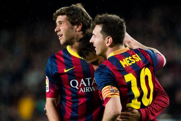 El Barcelona vive una situación similar. Con siete triunfos en el cierre...