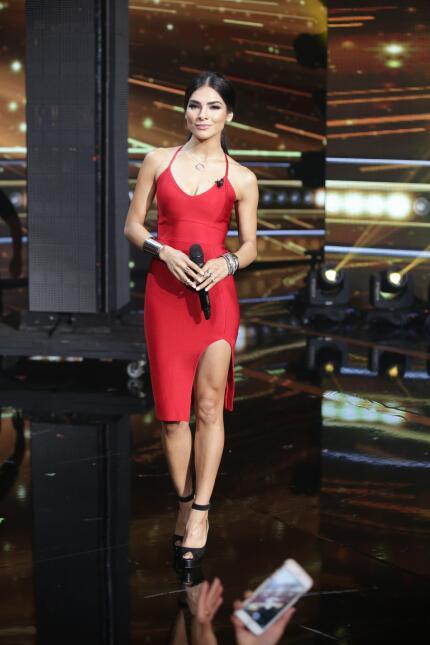 Alejandra se vio mejor que nunca en el cuarto show en vivo de La Banda....