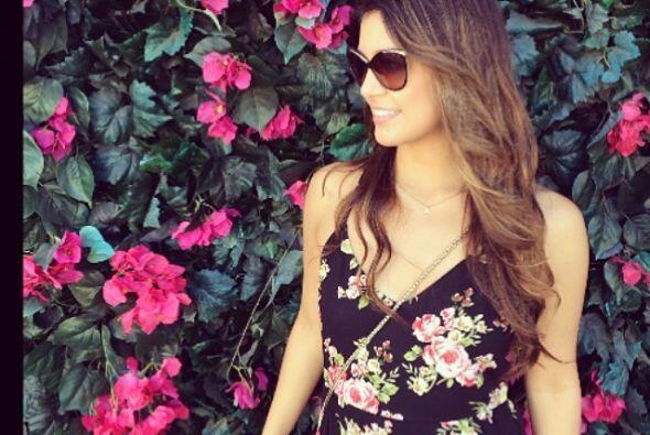 Y ya que estamos en el tema de las flores, recuerda que vestiditos maxis...