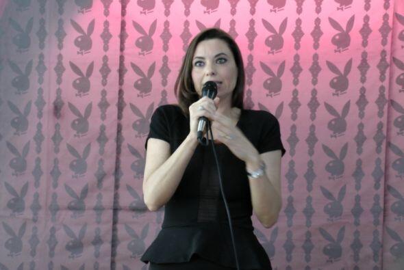 La actriz estuvo muy emocionada de poder mostrar las sensuales im&aacute...