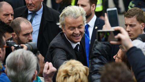 Conozcan a Geert Wilders, el político que inventó el trumpismo antes que...