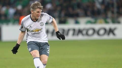 Bastian Schweinsteiger, elogiado por José Mourinho tras su salida del ManU.