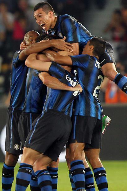 Mientras que el Inter logró un sufrido triunfo de 2 a 1 ante el Marsella...