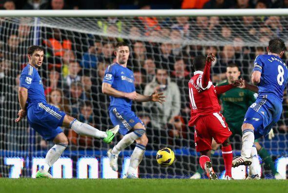 No hubo goles hasta el minuto 78, pero para sorpresa de todos fue marcad...