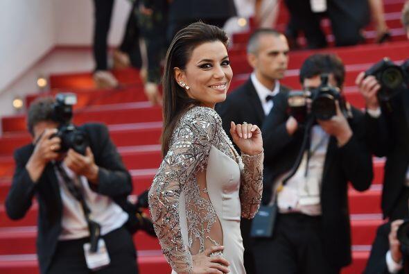 Dejaremos que las imágenes más candentes de Eva en Cannes hablen por si...