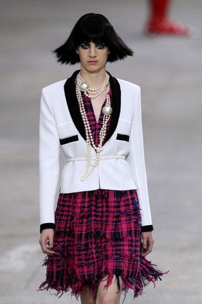 Chanel, Oscar de la Renta, Nicole Miller y Moschino son algunas firmas q...