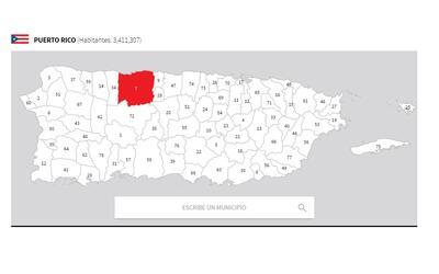 puerto rico mapa arecibo