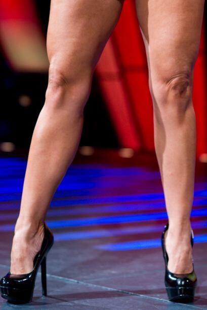 Ahora te mostramos las piernas de Mabel Pinto, nuestra concursante númer...