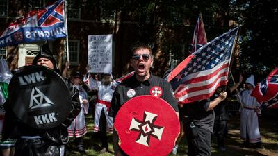 In photos: White supremacist rally in Charlottesville ends in chaos and bloodshed