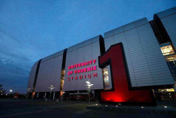 El estadio fue votado por los jugadores de la NFL como el número uno de...