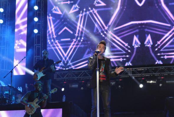 Fotografías tomadas durante el concierto de Prince Royce, efectuado el 7...