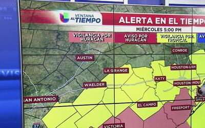 Alerta en Texas por la depresión tropical Harvey
