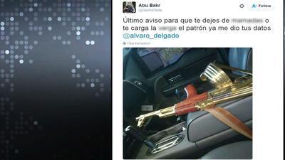 Las imágenes con las que amenazan de muerte a un conocido periodista en...