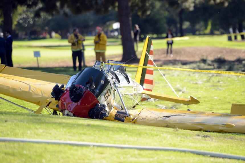 Harrison Ford accidente