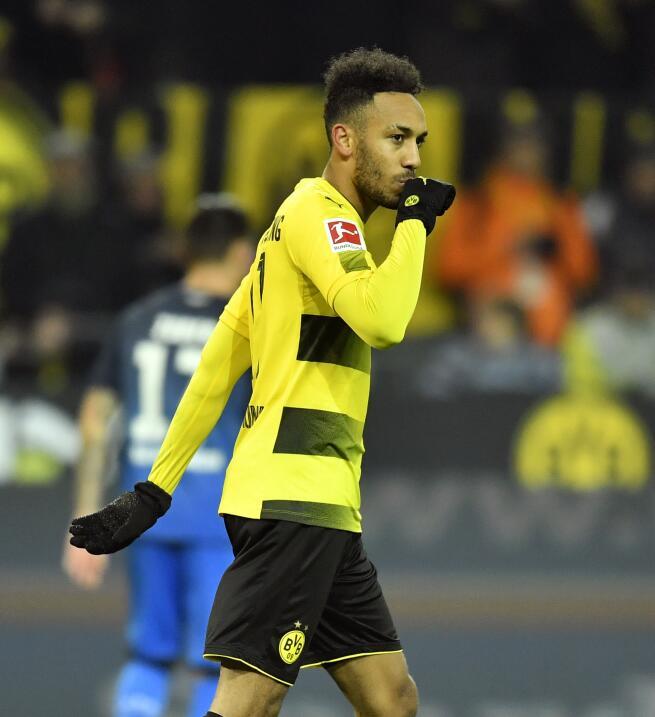 21. Pierre-Emerick Aubameyang (Borussia Dortmund / Gabón)