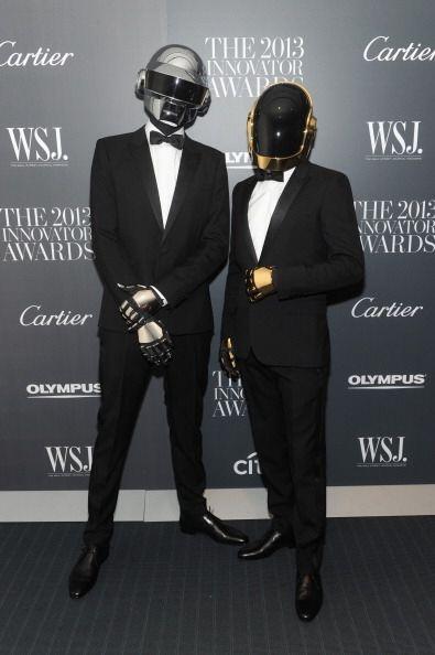 """""""Get Lucky"""" fue otra canción del dúo Daft Punk que tuvo gran auge este 2..."""