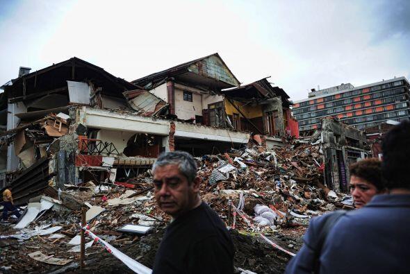 Muy a pesar de los daños materiales, las víctimas son las...