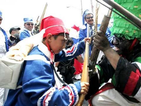 El ejército francés ingresó por el Puerto de Veracr...