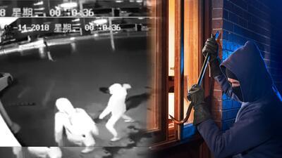 (Video) Ladrones arruinan su propio plan de robar antes de comenzar