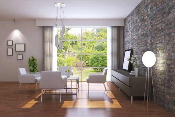 Tu sala, un lugar de conversación. Obviamente no es necesario que el sof...