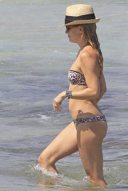 Ir a Ibiza la alejó por un rato de sus días agitados.Mira aquí los video...