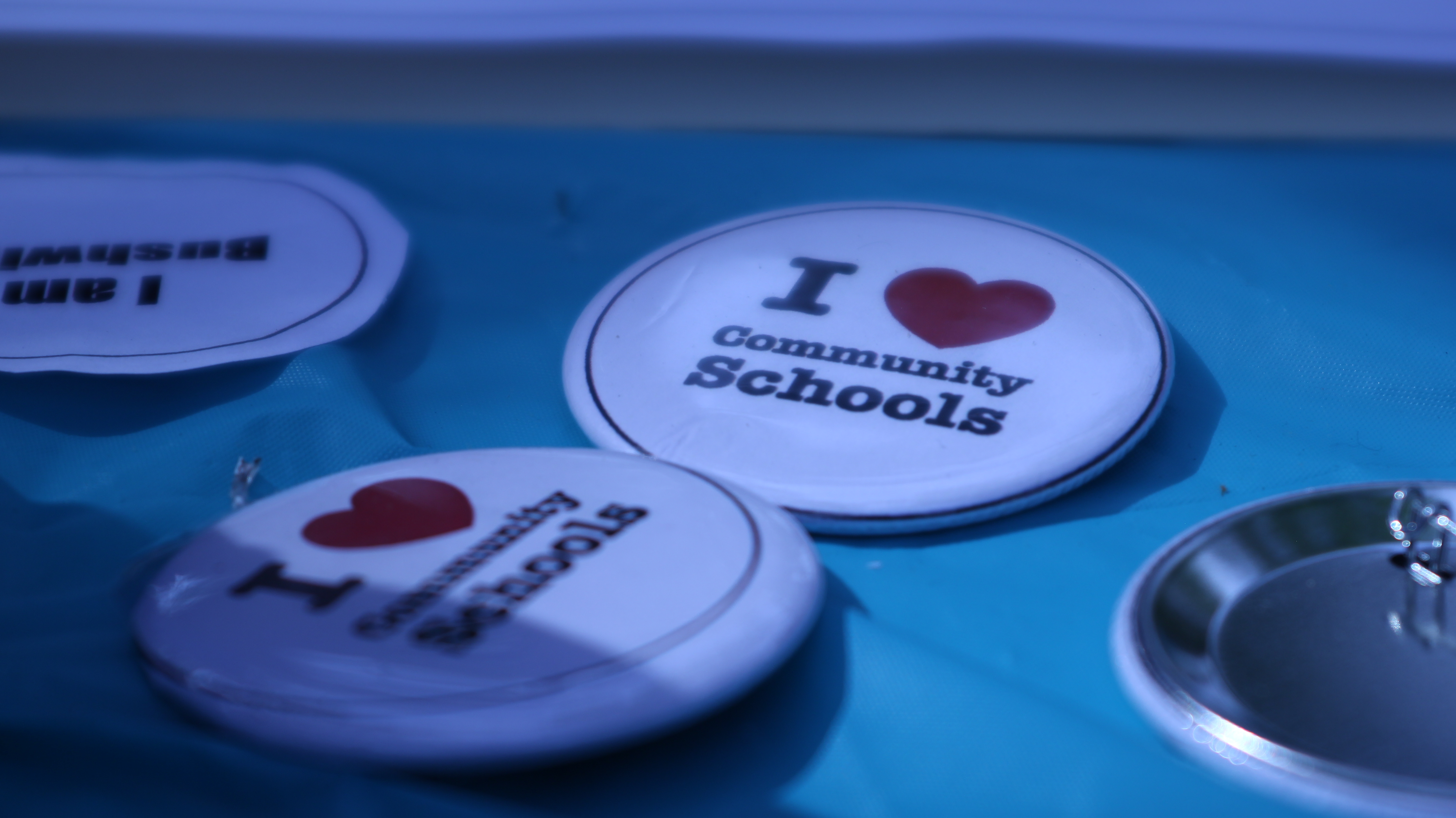 Community School Buttons (Se Hace Camino NY)
